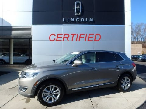Luxe Silver 2017 Lincoln MKX Premier AWD