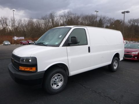 Summit White 2018 Chevrolet Express 2500 Cargo WT