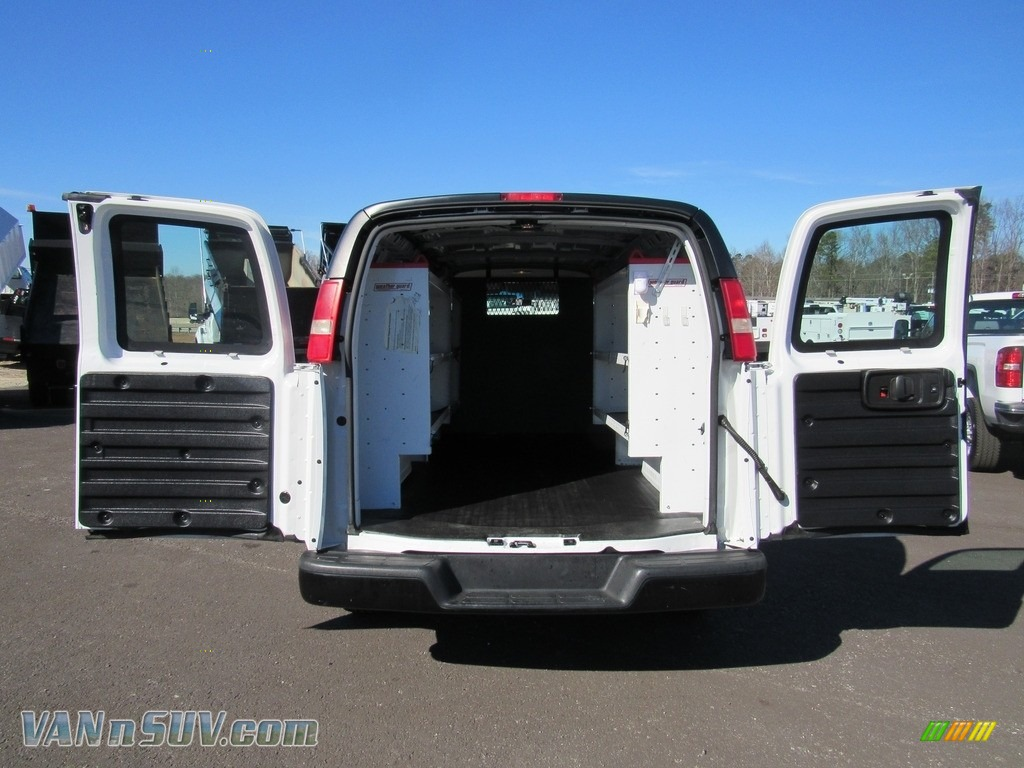 2012 Express 1500 Cargo Van - Summit White / Medium Pewter photo #9