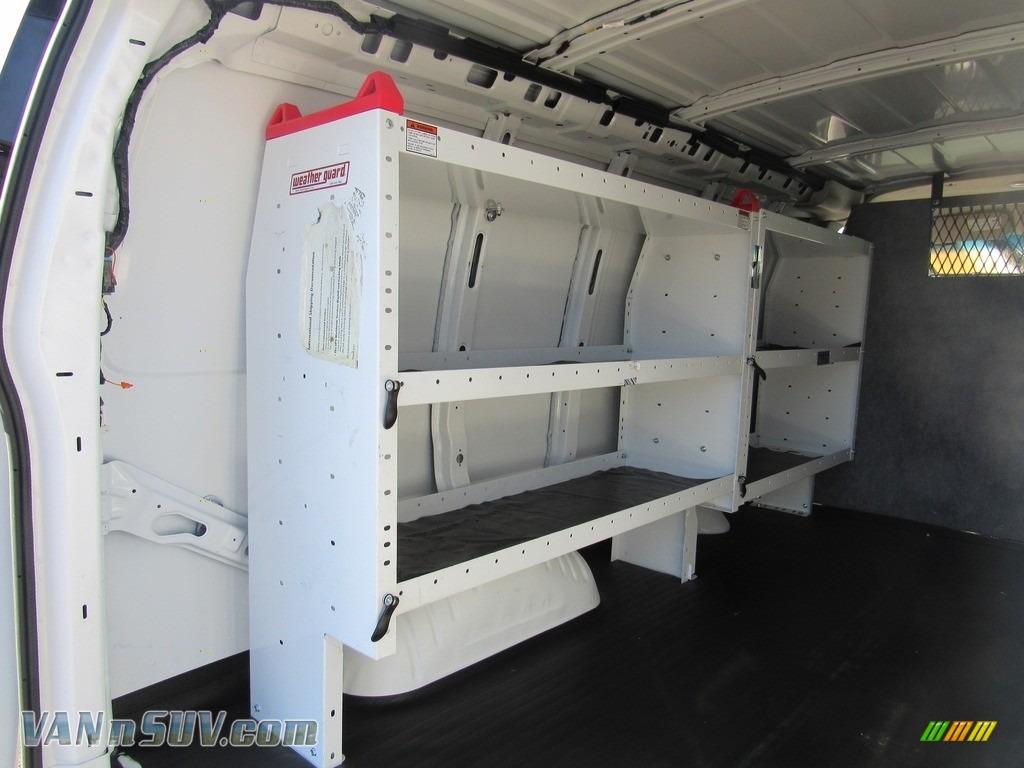 2012 Express 1500 Cargo Van - Summit White / Medium Pewter photo #11