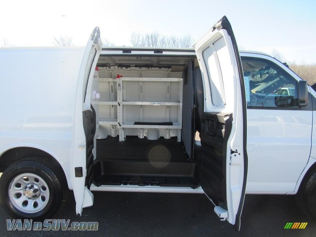 2012 Express 1500 Cargo Van - Summit White / Medium Pewter photo #13