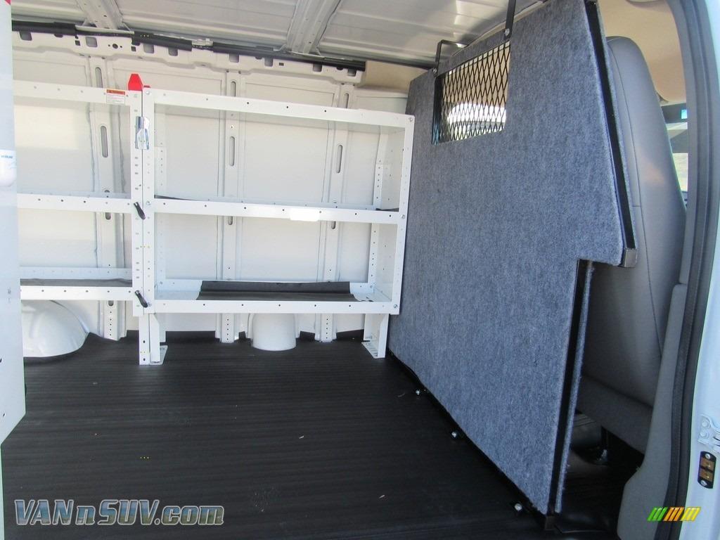 2012 Express 1500 Cargo Van - Summit White / Medium Pewter photo #14