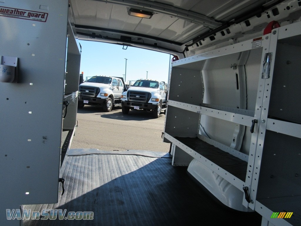 2012 Express 1500 Cargo Van - Summit White / Medium Pewter photo #15