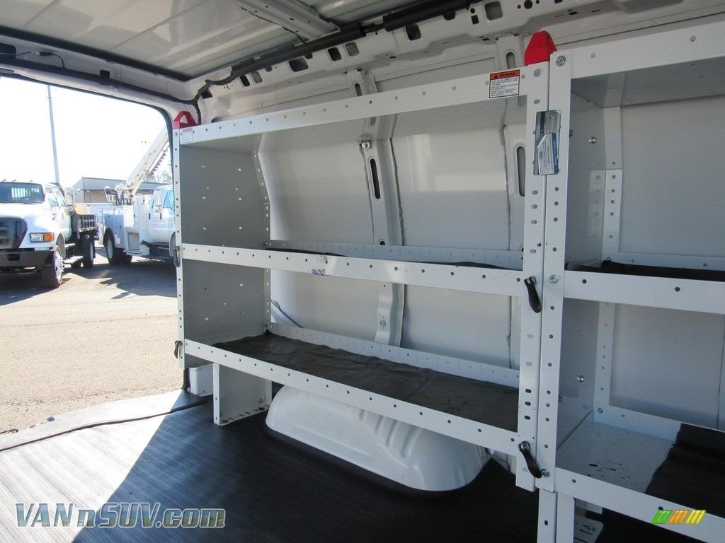 2012 Express 1500 Cargo Van - Summit White / Medium Pewter photo #16