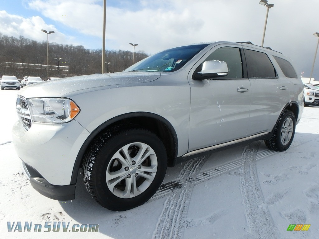 2012 Durango Crew AWD - Bright Silver Metallic / Black photo #1