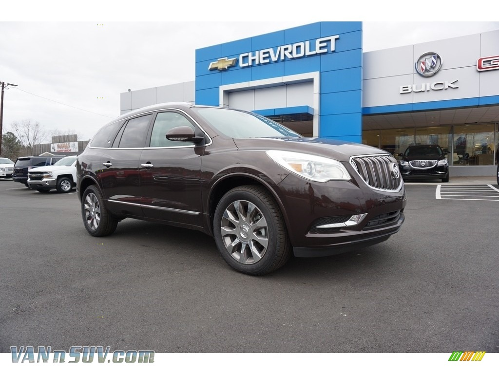 2017 Enclave Premium - Dark Chocolate Metallic / Ebony/Ebony photo #1
