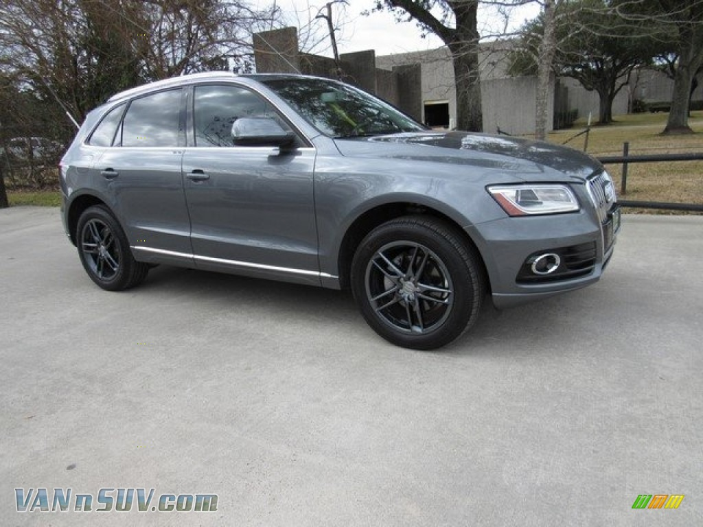 2013 Q5 2.0 TFSI quattro - Monsoon Gray Metallic / Black photo #1