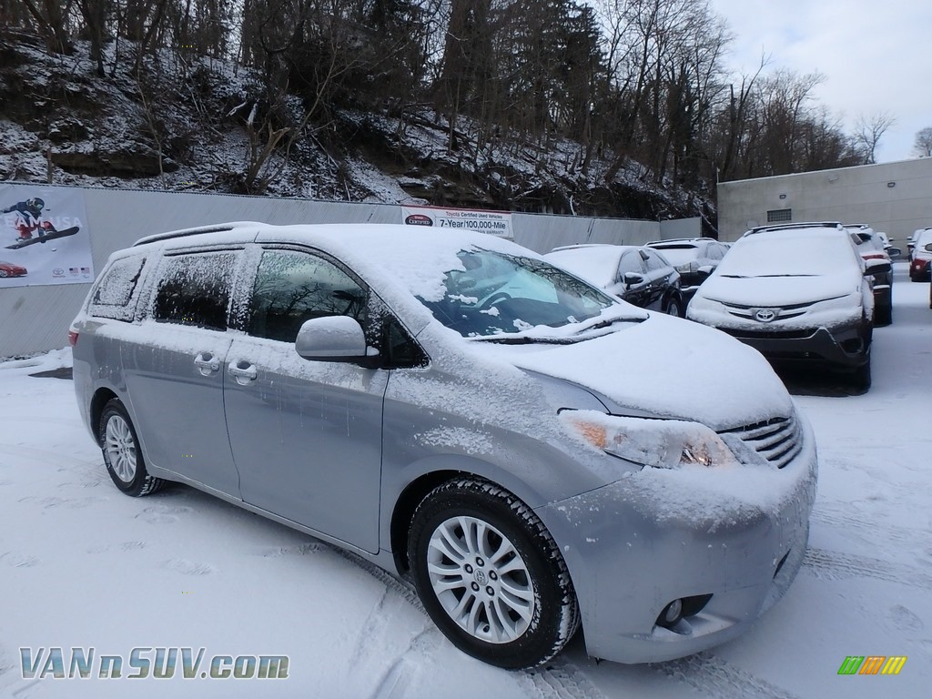 2015 Sienna XLE - Silver Sky Metallic / Ash photo #1