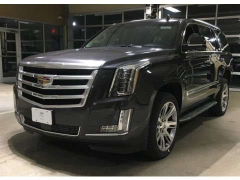 Dark Granite Metallic 2018 Cadillac Escalade Premium Luxury 4WD