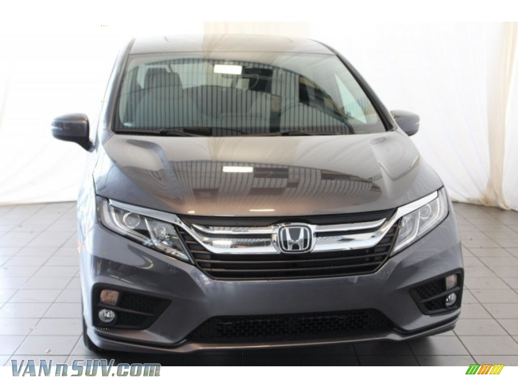 2018 Odyssey EX-L - Modern Steel Metallic / Gray photo #4