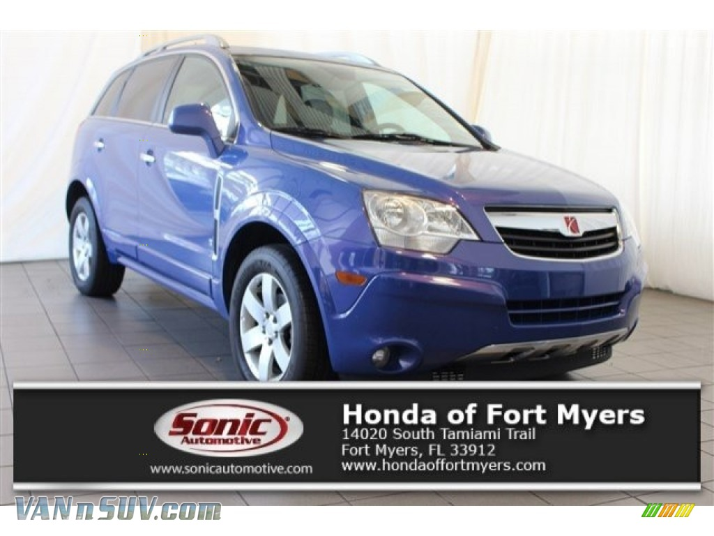 Mystic Blue / Gray Saturn VUE XR