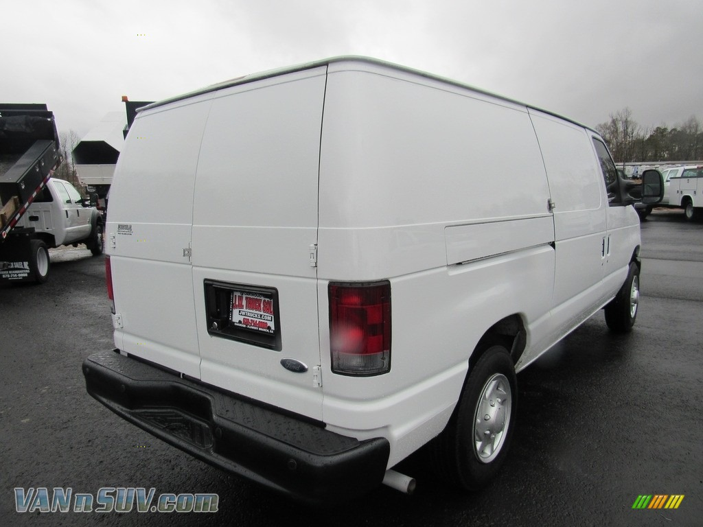 2012 E Series Van E150 Cargo - Oxford White / Medium Flint photo #5