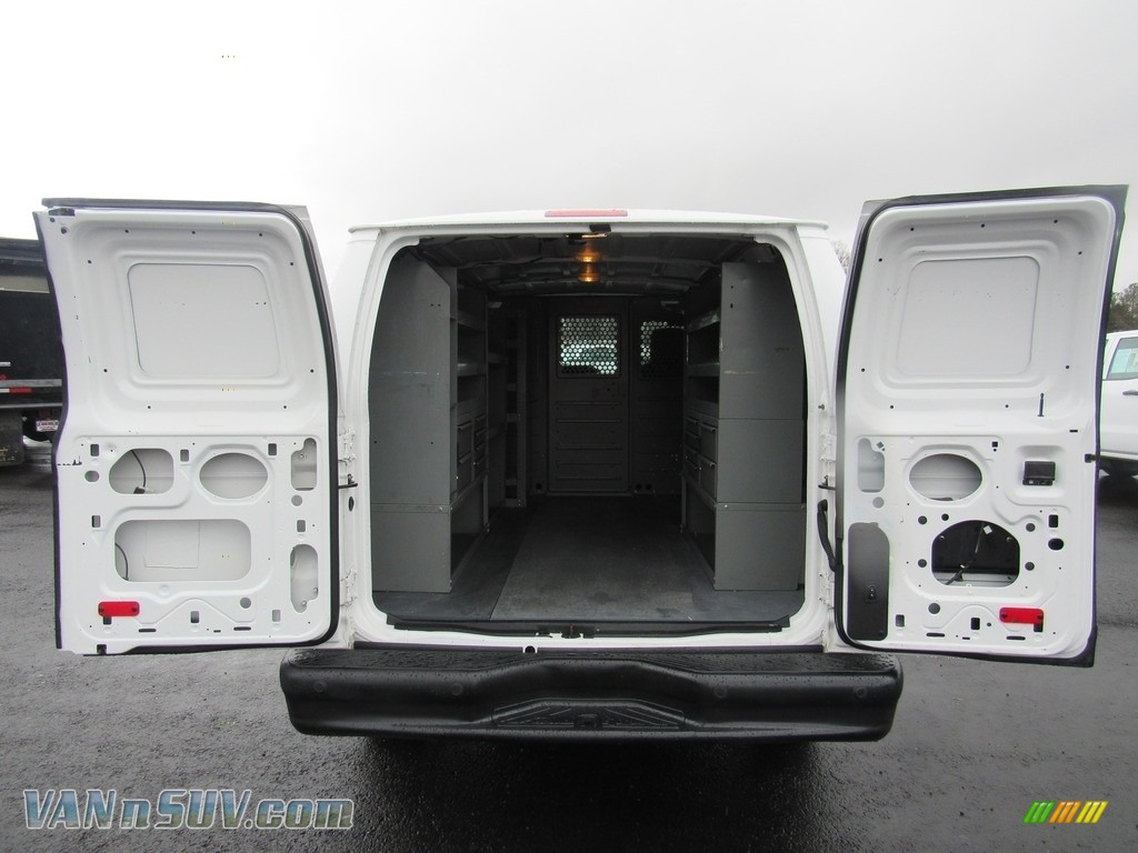 2012 E Series Van E150 Cargo - Oxford White / Medium Flint photo #9