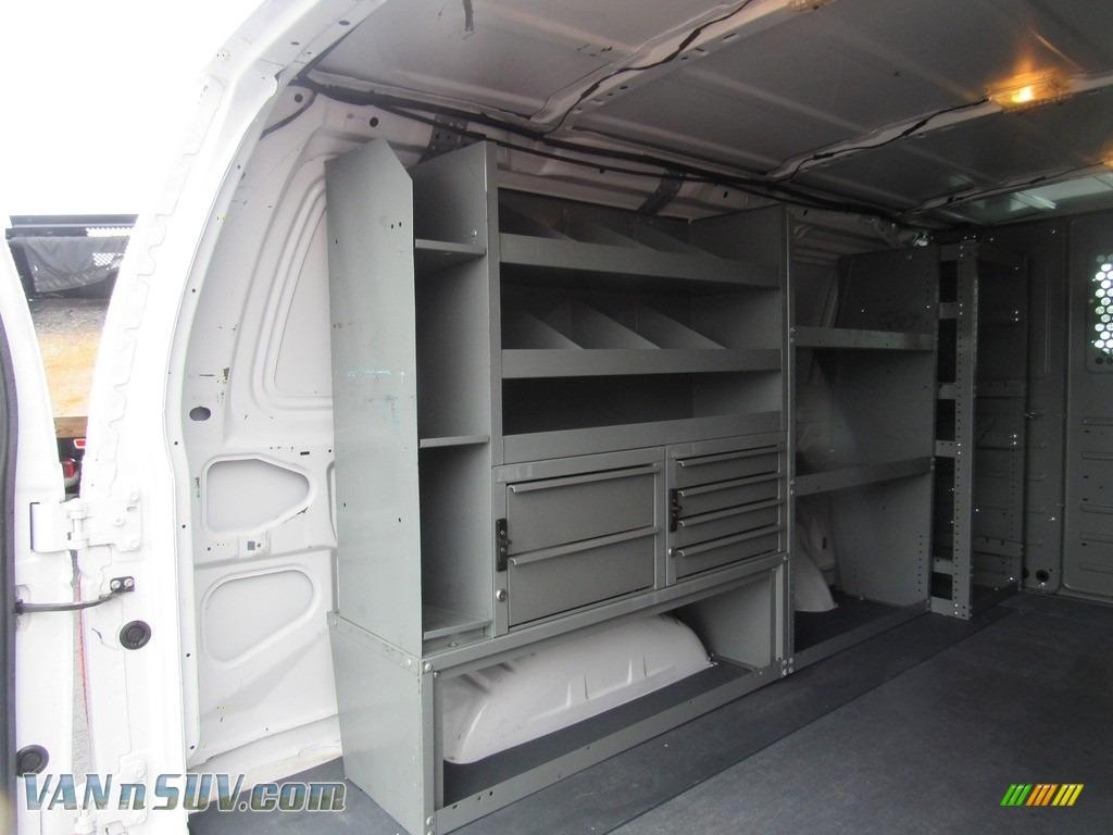 2012 E Series Van E150 Cargo - Oxford White / Medium Flint photo #11