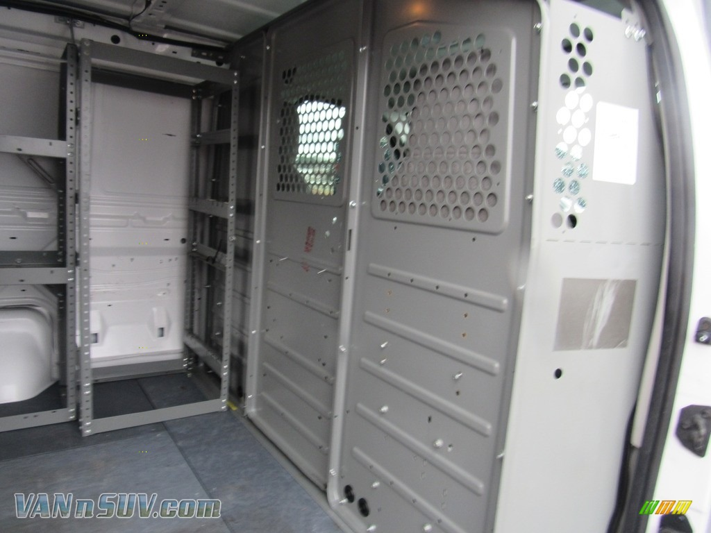 2012 E Series Van E150 Cargo - Oxford White / Medium Flint photo #16