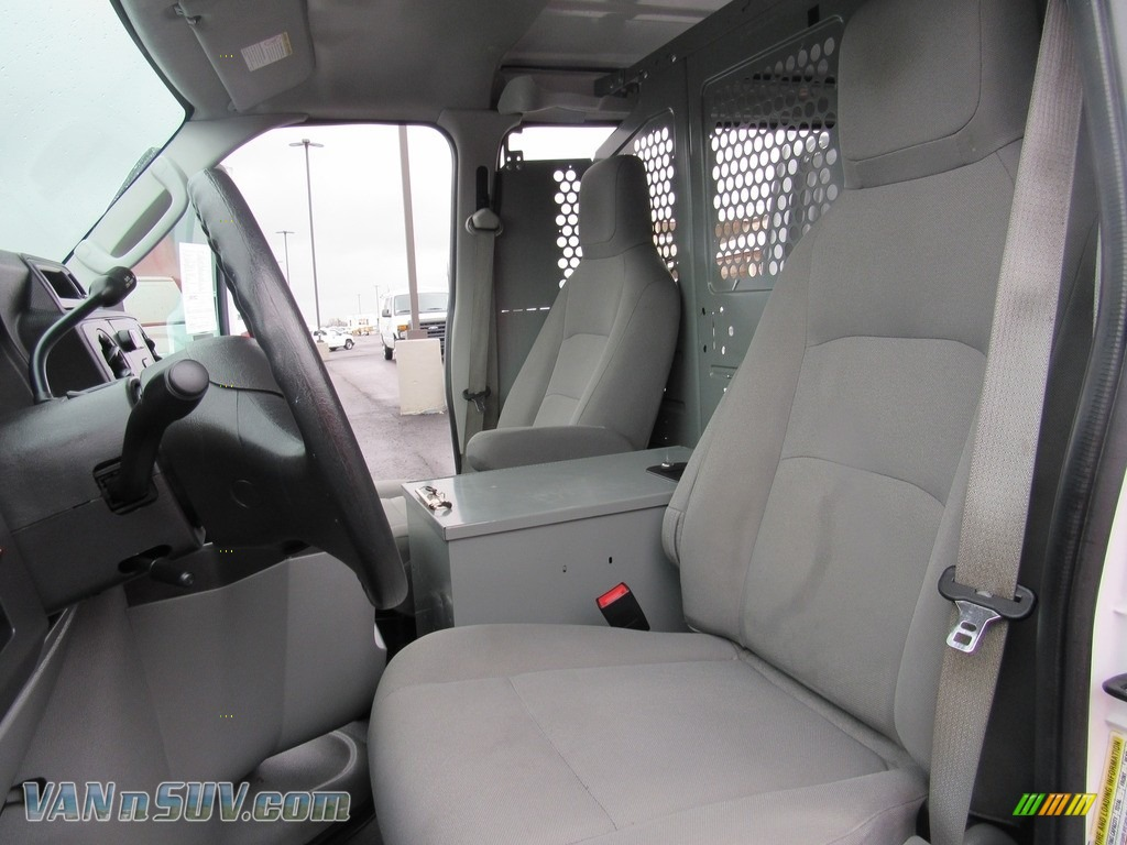 2012 E Series Van E150 Cargo - Oxford White / Medium Flint photo #27