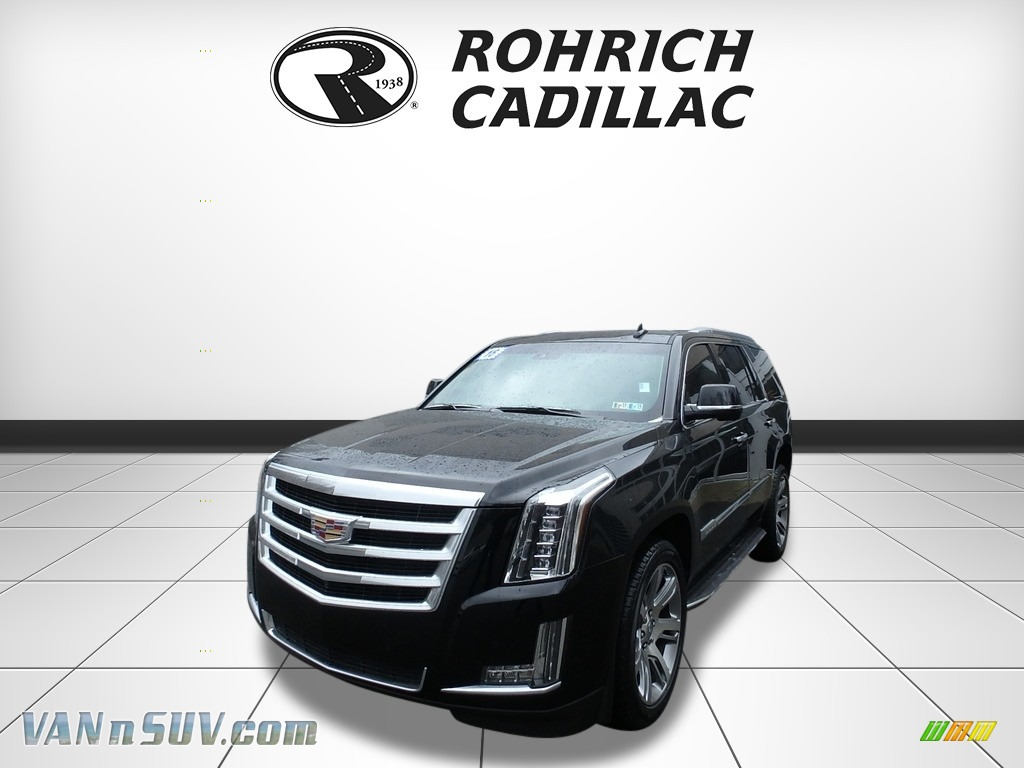 2016 Escalade Luxury 4WD - Black Raven / Shale/Cocoa photo #1