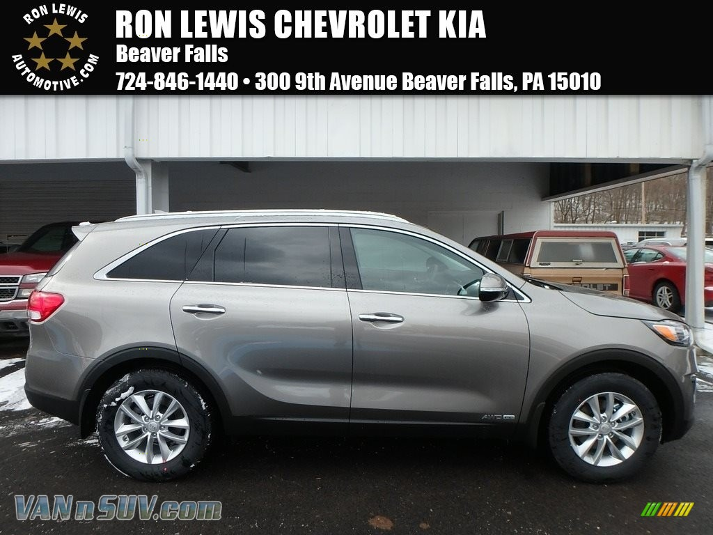 2018 Sorento LX V6 AWD - Titanium Silver / Satin Black photo #1