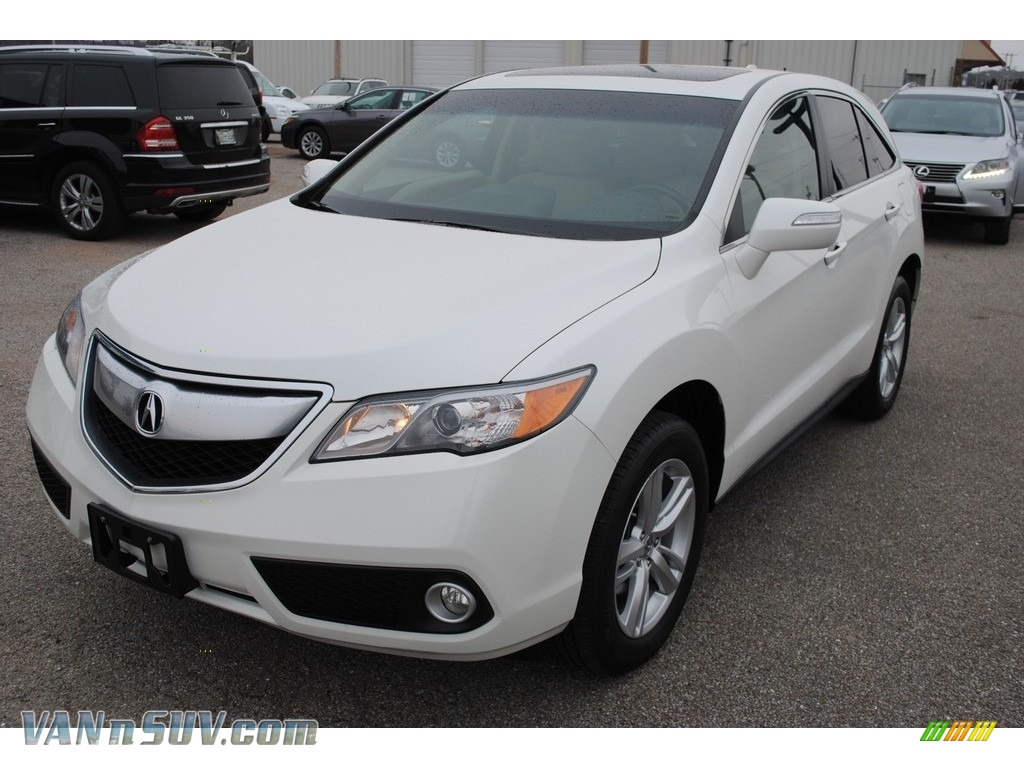 2015 RDX Technology - White Diamond Pearl / Parchment photo #1