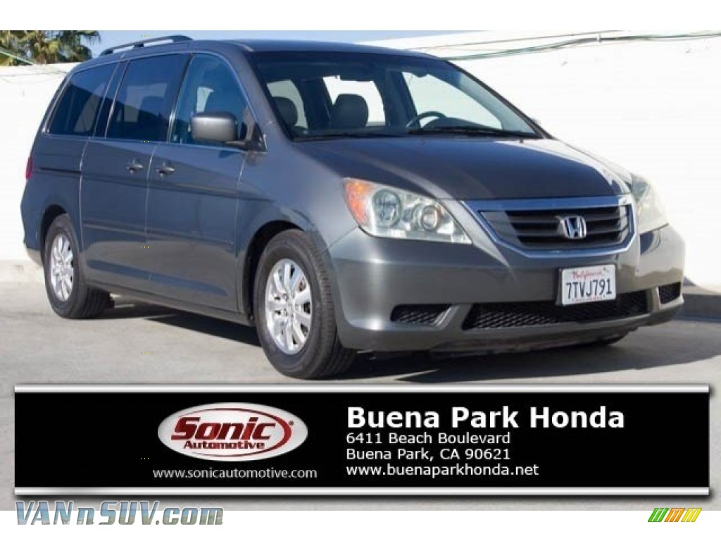 2008 Odyssey EX-L - Nimbus Gray Metallic / Gray photo #1