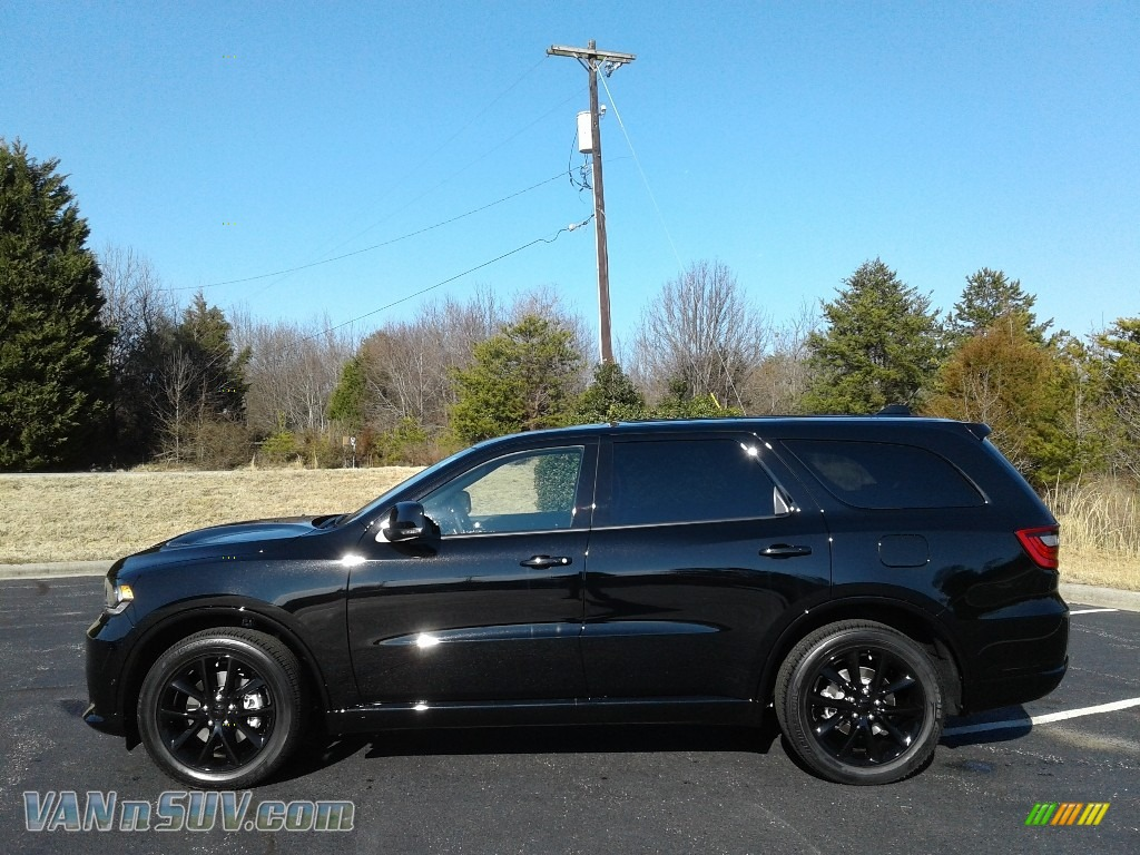 2018 Durango R/T AWD - DB Black Crystal / Black photo #1