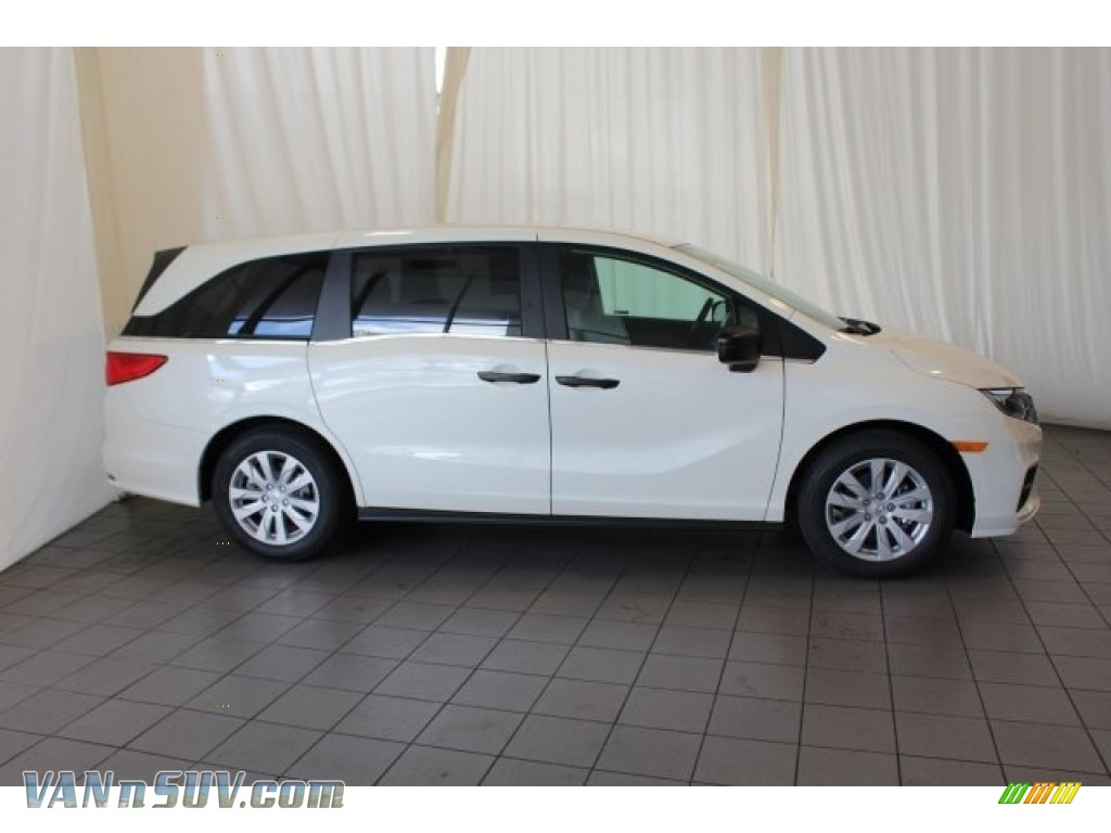 2018 Odyssey LX - White Diamond Pearl / Mocha photo #3
