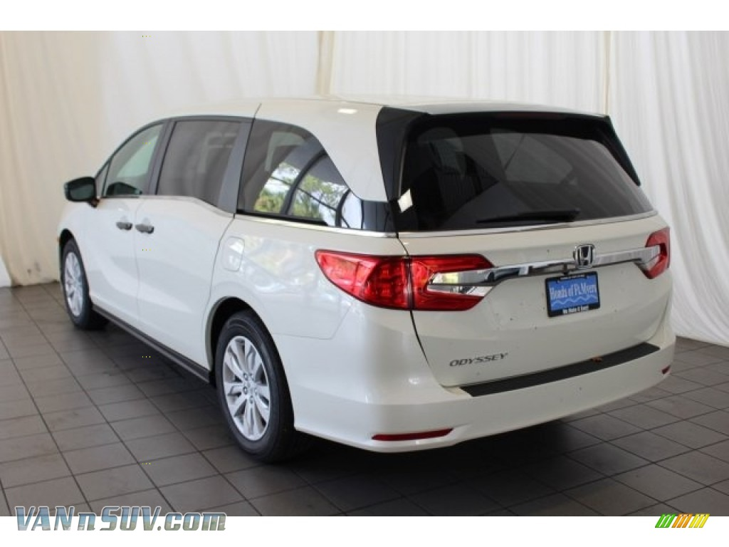 2018 Odyssey LX - White Diamond Pearl / Mocha photo #7