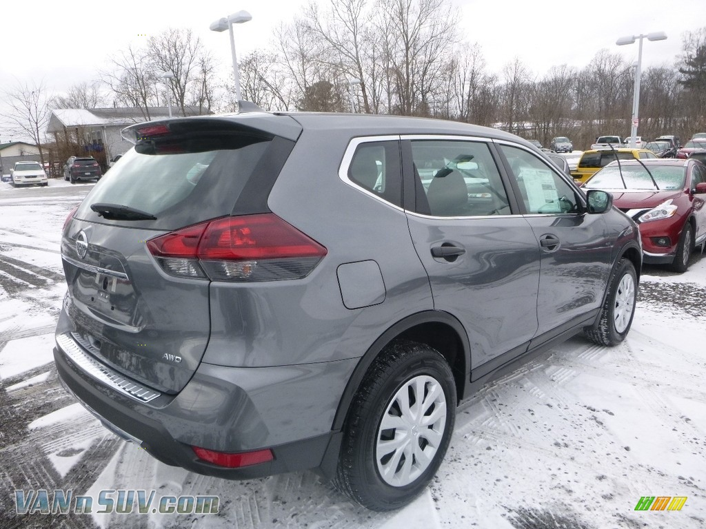 2018 Rogue S AWD - Gun Metallic / Charcoal photo #4