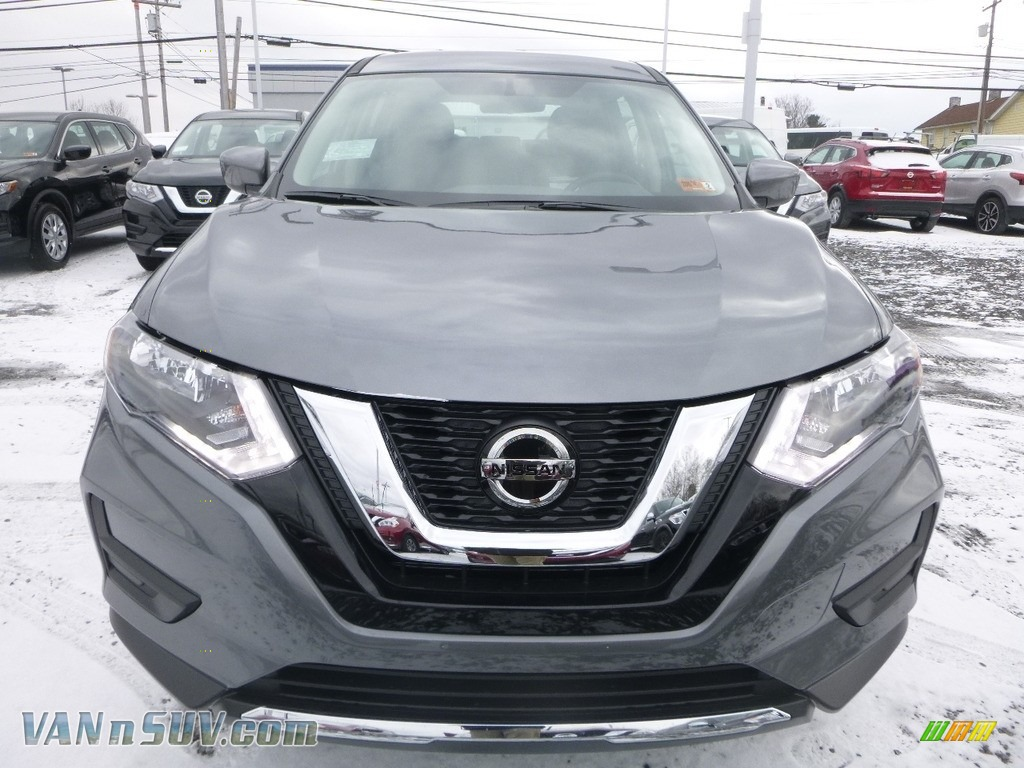 2018 Rogue S AWD - Gun Metallic / Charcoal photo #9
