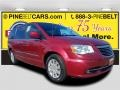 Chrysler Town & Country Touring Deep Cherry Red Crystal Pearl photo #1