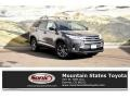 Toyota Highlander Hybrid XLE AWD Predawn Gray Mica photo #1