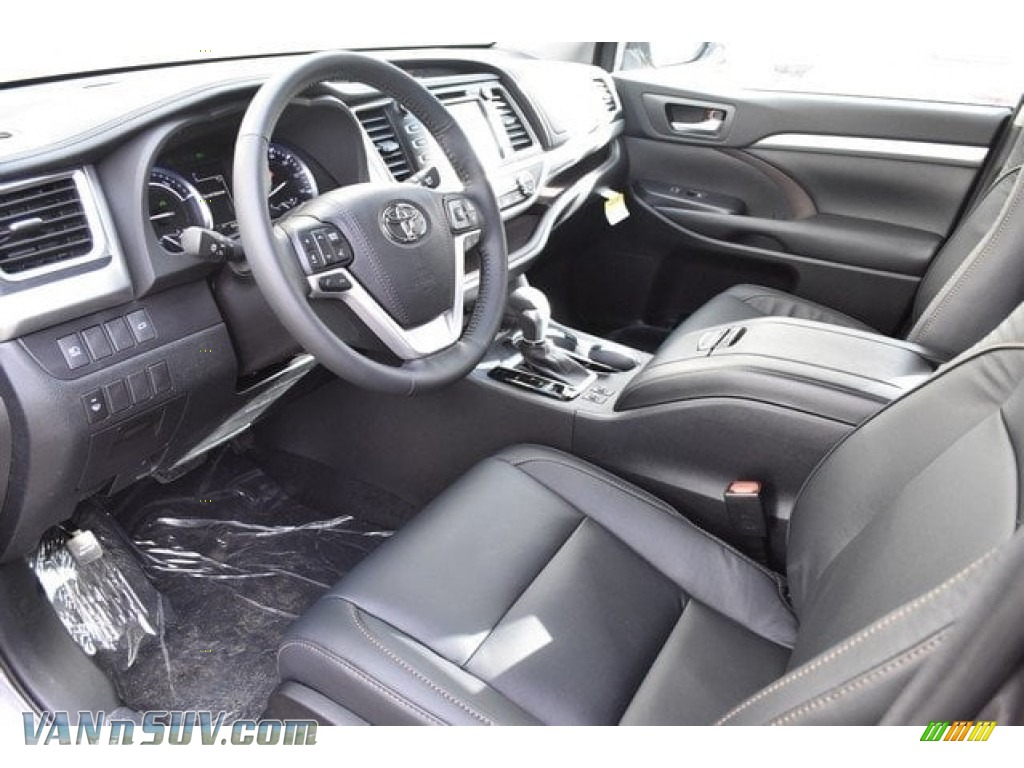 2018 Highlander Hybrid XLE AWD - Predawn Gray Mica / Black photo #5