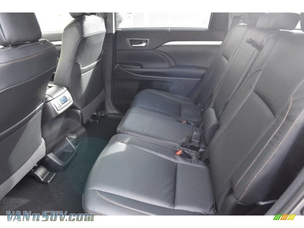 2018 Highlander Hybrid XLE AWD - Predawn Gray Mica / Black photo #15