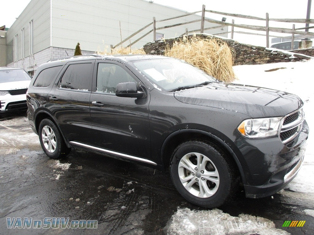 Dark Charcoal Pearl / Black Dodge Durango Express 4x4
