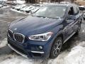 BMW X1 xDrive28i Mediterranean Blue Metallic photo #7