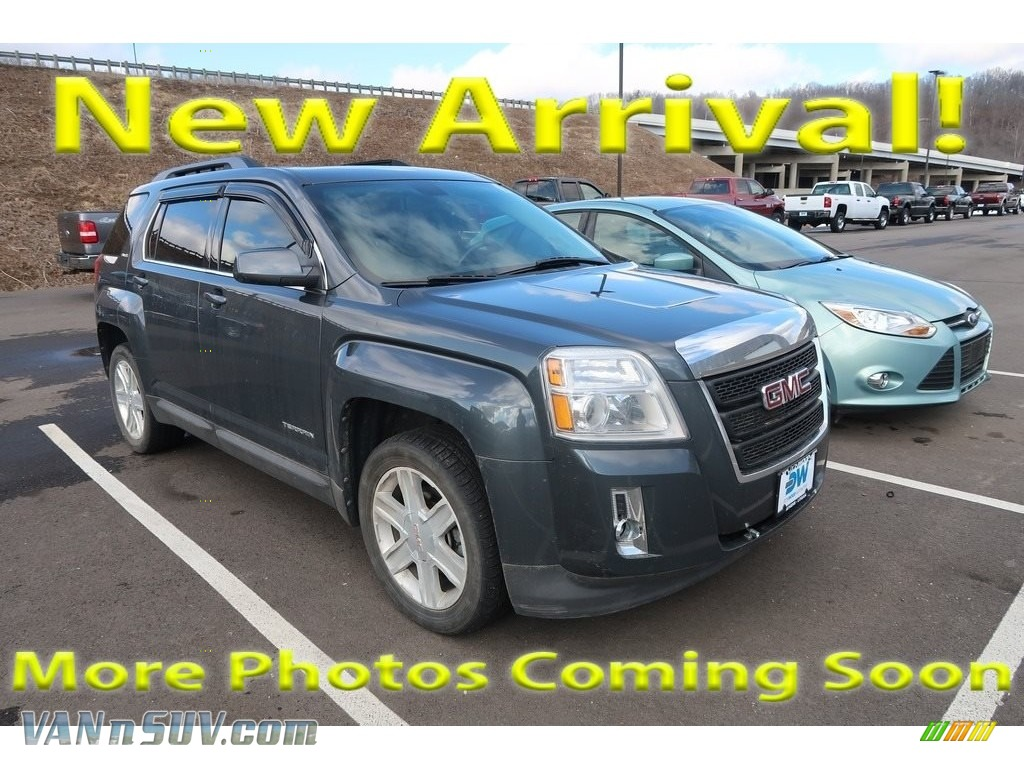 2011 Terrain SLE - Cyber Gray Metallic / Jet Black photo #1
