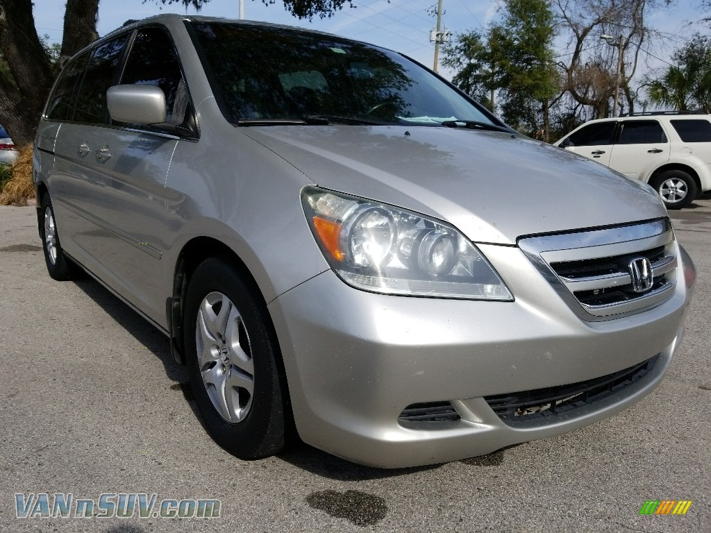 2007 Odyssey EX-L - Silver Pearl Metallic / Gray photo #1