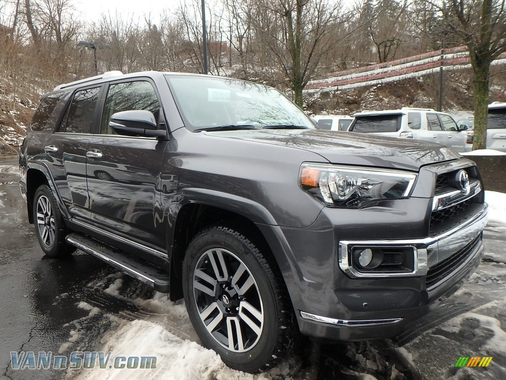 2018 4Runner Limited 4x4 - Magnetic Gray Metallic / Black photo #1