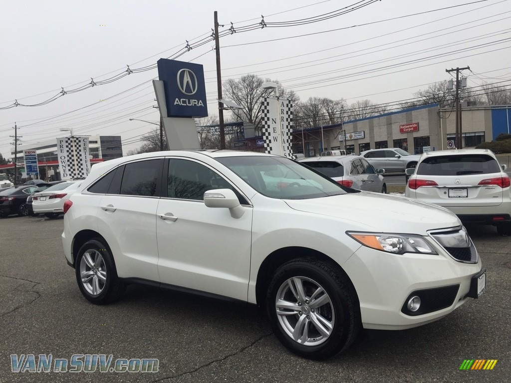 White Diamond Pearl / Parchment Acura RDX Technology