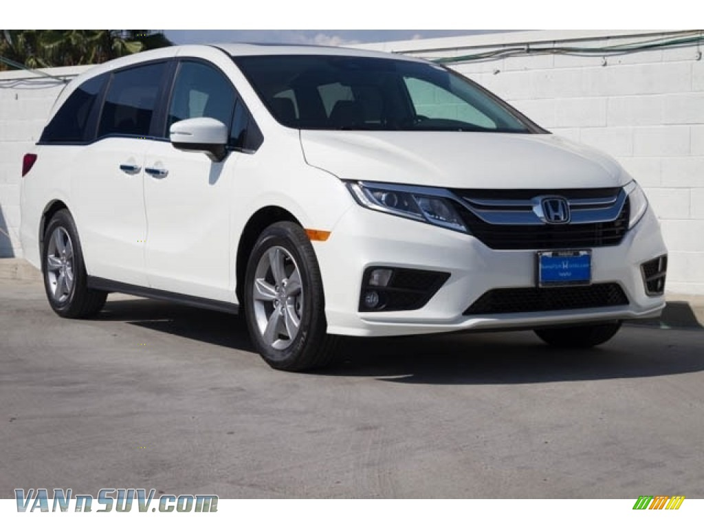 2018 Odyssey EX-L - White Diamond Pearl / Mocha photo #1