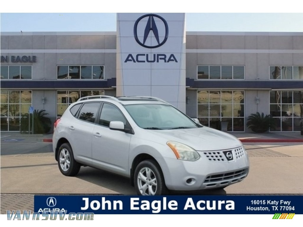 Silver Ice / Gray Nissan Rogue SL