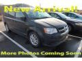 Dodge Grand Caravan SXT Brilliant Black Crystal Pearl photo #1