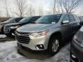 Chevrolet Traverse LT AWD Silver Ice Metallic photo #1