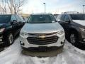 Chevrolet Traverse LT AWD Silver Ice Metallic photo #2