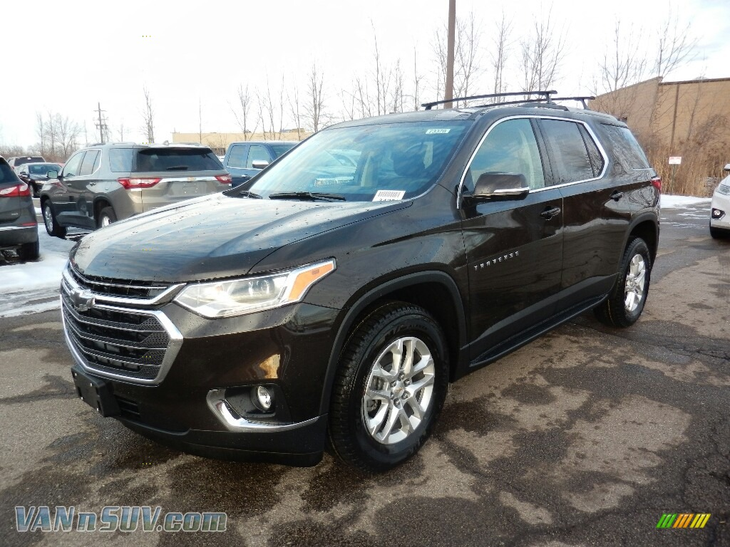 2018 Traverse LT AWD - Sable Brown Metallic / Jet Black photo #1
