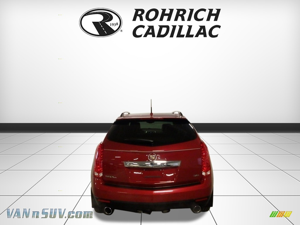 2013 SRX Performance AWD - Crystal Red Tintcoat / Shale/Brownstone photo #4