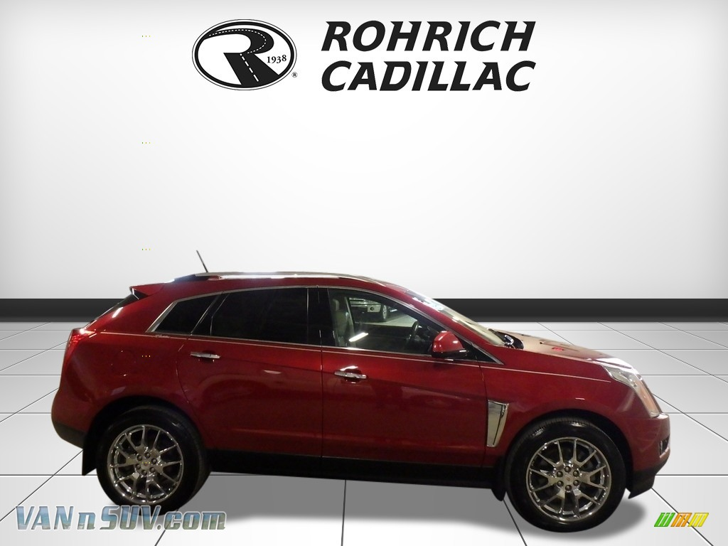2013 SRX Performance AWD - Crystal Red Tintcoat / Shale/Brownstone photo #6