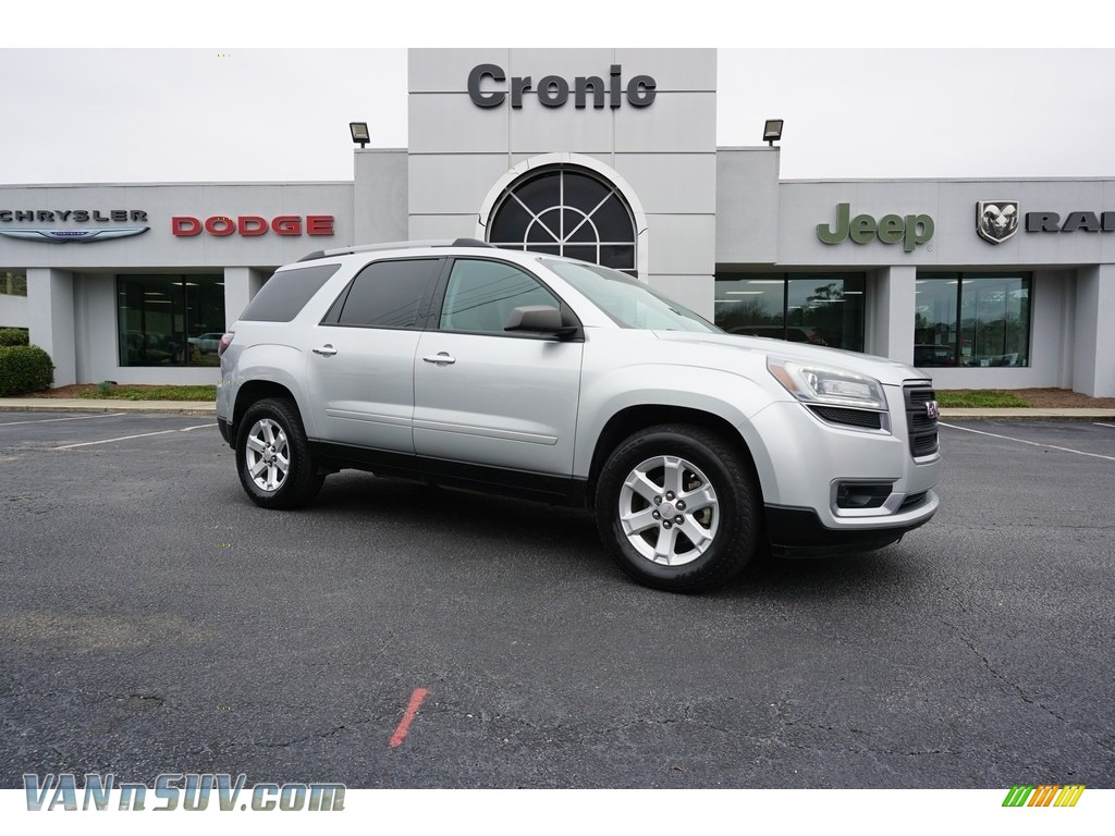 2014 Acadia SLE - Quicksilver Metallic / Light Titanium photo #1
