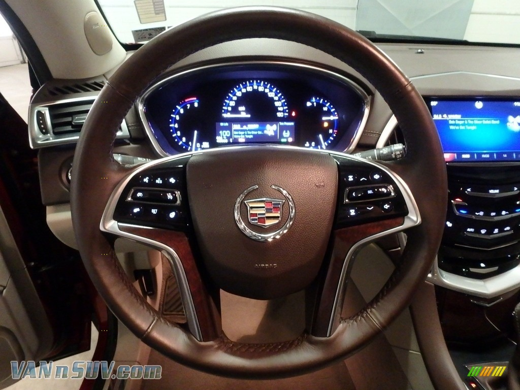 2013 SRX Performance AWD - Crystal Red Tintcoat / Shale/Brownstone photo #20