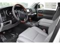 Toyota Sequoia Platinum 4x4 Blizzard White Pearl photo #5